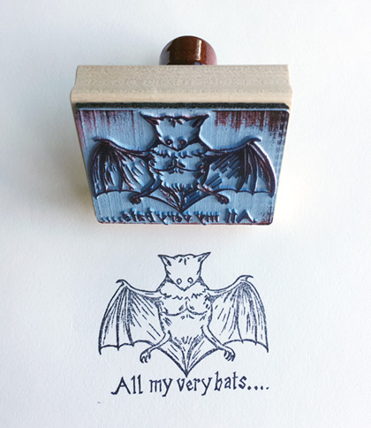 All my very bats by Marcel Dzama