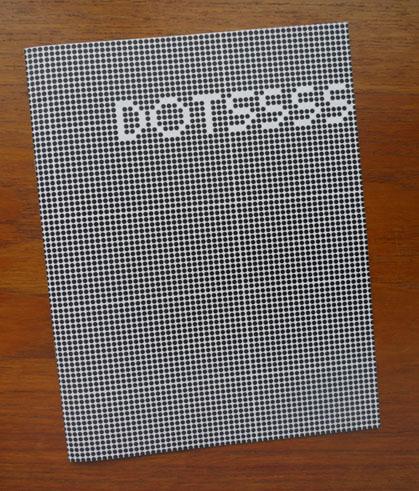 DOTSSSS by Rob Wakshinski