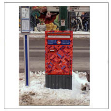Jonathan Monk - Picture Postcard Posted from Post Box Pictured
