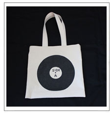 David Shrigley - Side A/Side B Record Bag