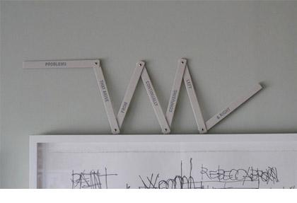 Folding Ruler by Derek Sullivan