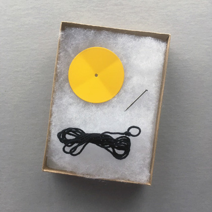 Yellow Flower by Michael Dumoniter